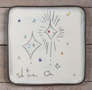 Shine On Square Plate