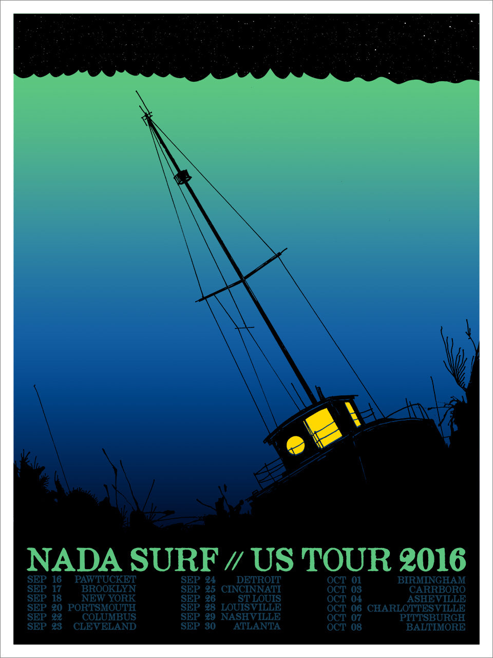 Nada Surf / US Tour 2016 / Ship