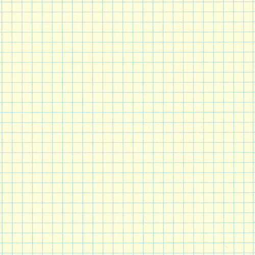 Blue 4mm Grid Graph Paper