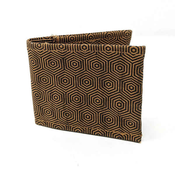 Hexagon Fabric Wallet