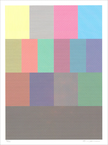 Eric Doeringer: Lines, Colors, and Their Combinations