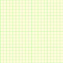 Green 5 Squares/In Graph Paper