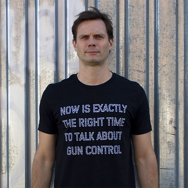 Now Is Exactly The Right Time To Talk About Gun Control T-shirt