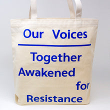 Our Voices Tote Bag