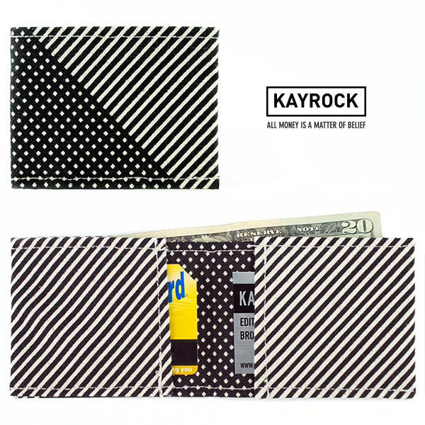 Diagonal Stripes Wallet