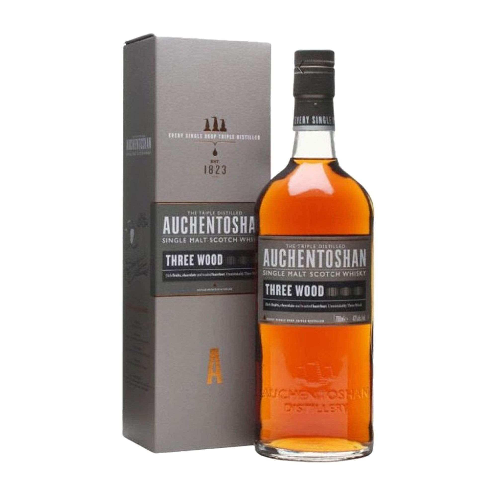 Spirits Auchentoshan 3 Wood (Gift Box)