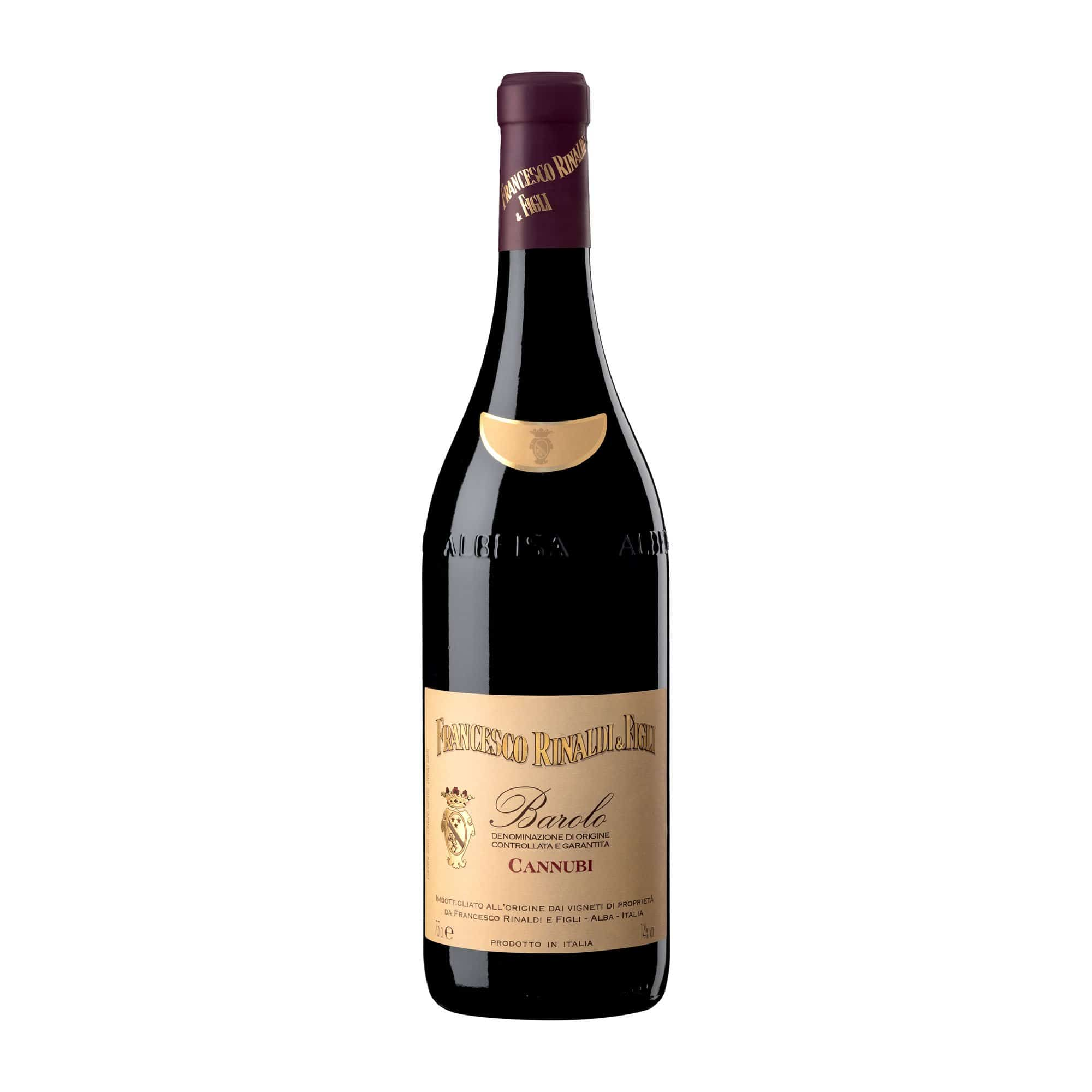 Red Wine Barolo Cannubi Francesco Rinaldi 2016
