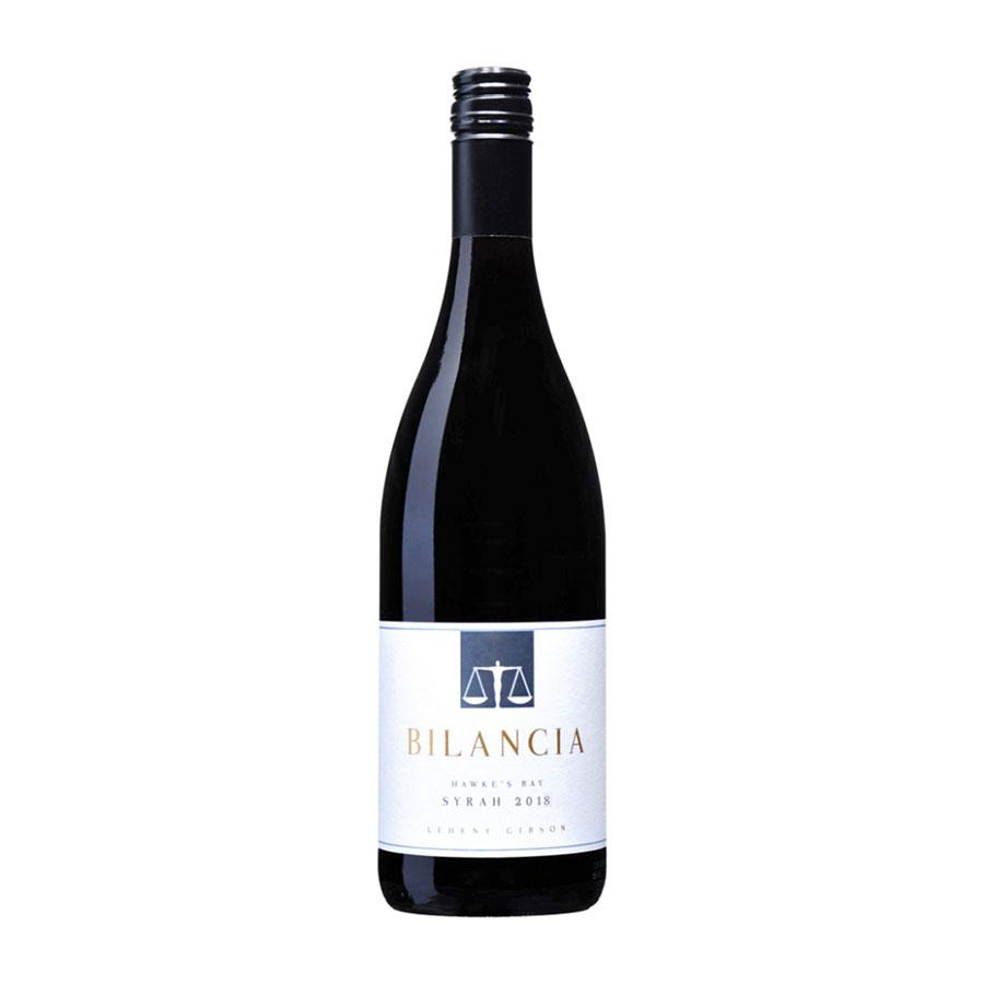 Red Wine Bilancia Hawke's Bay Syrah 2018 (4394663608343)