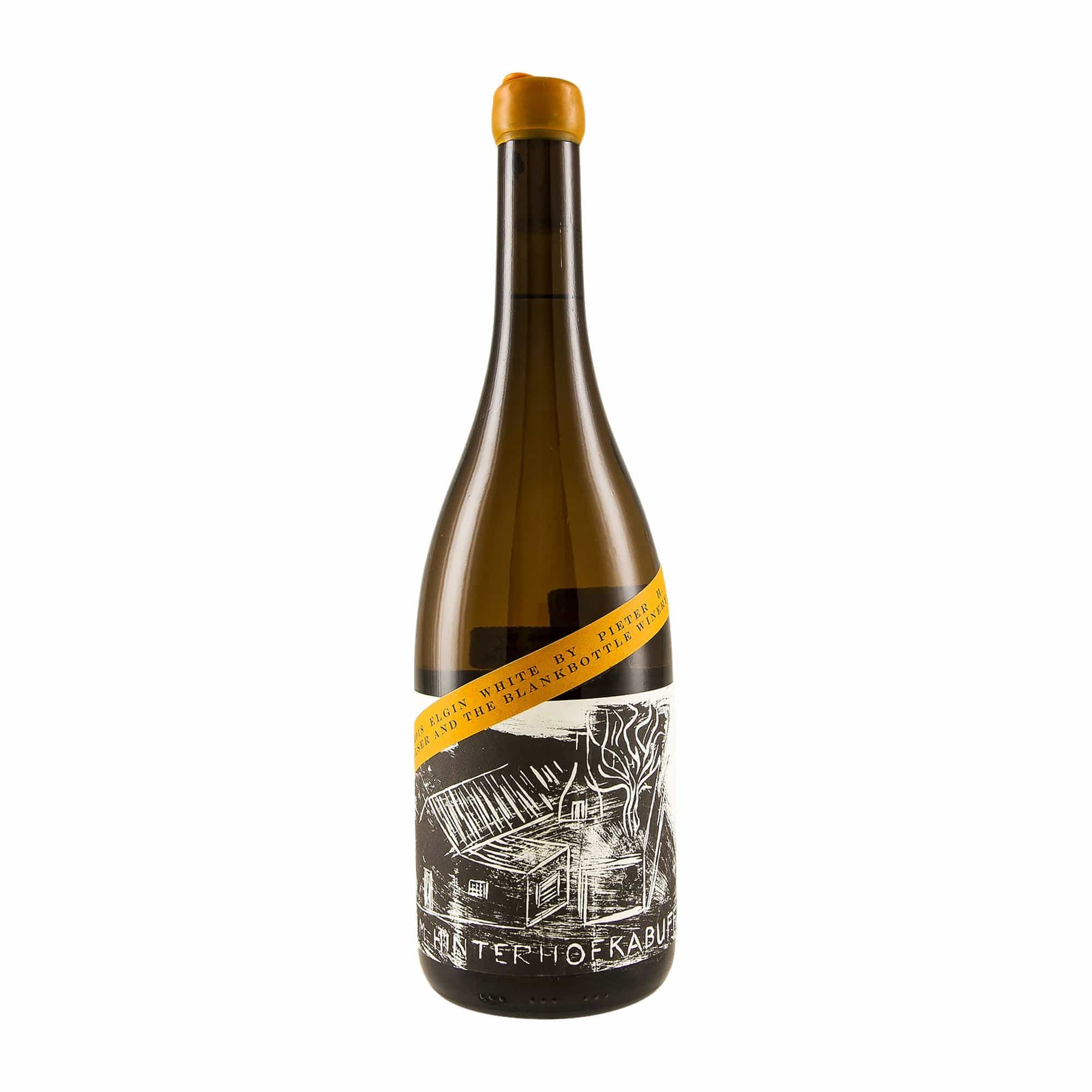 White Wine BlankBottle Im Hinterhofkabuff 2018