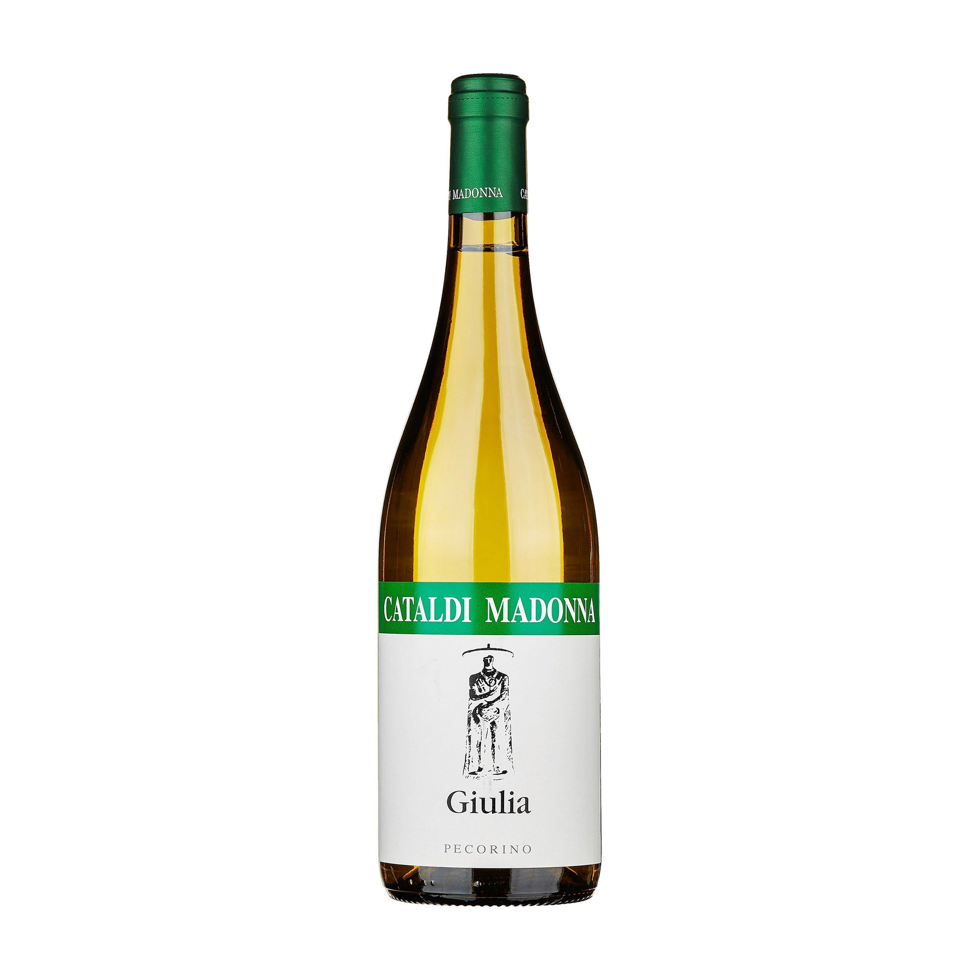 White Wine Cataldi Madonna Pecorino 'Giulia' 2018