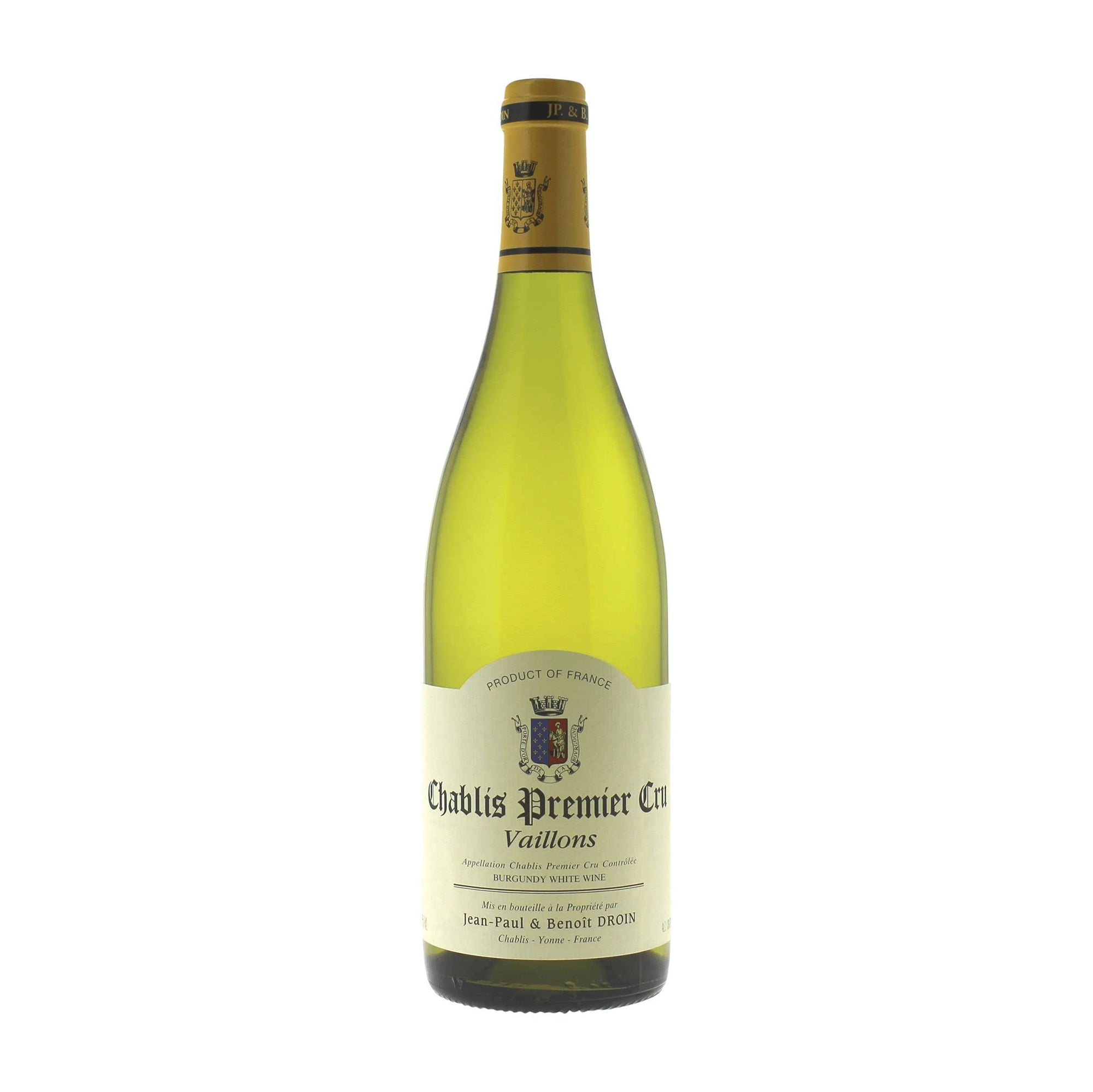 White Wine Chablis 1er Cru Vaillons Droin 2019 EP (case of 6)