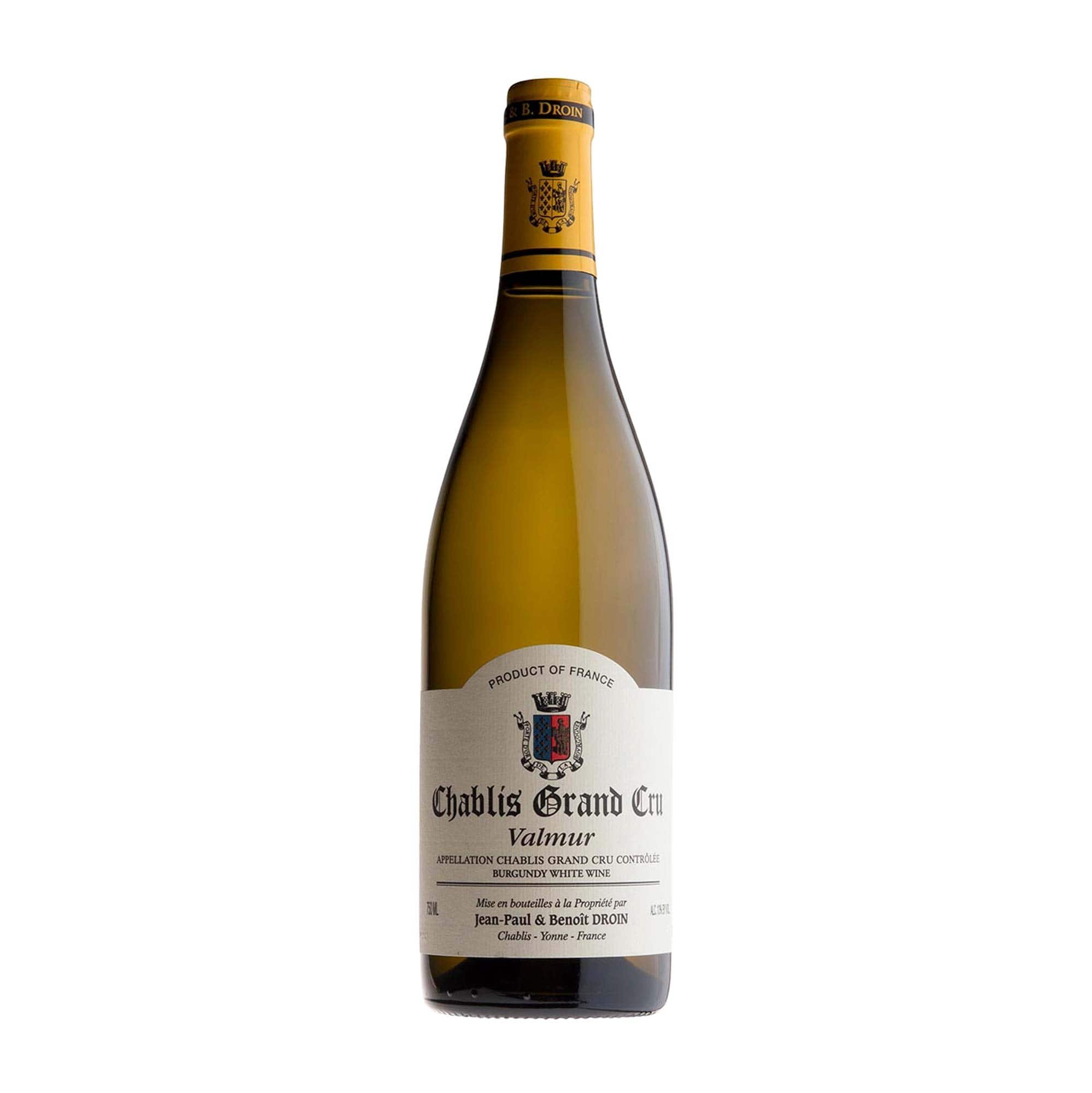 White Wine Chablis Grand Cru 'Valmur' Droin 2019 EP (case of 6)