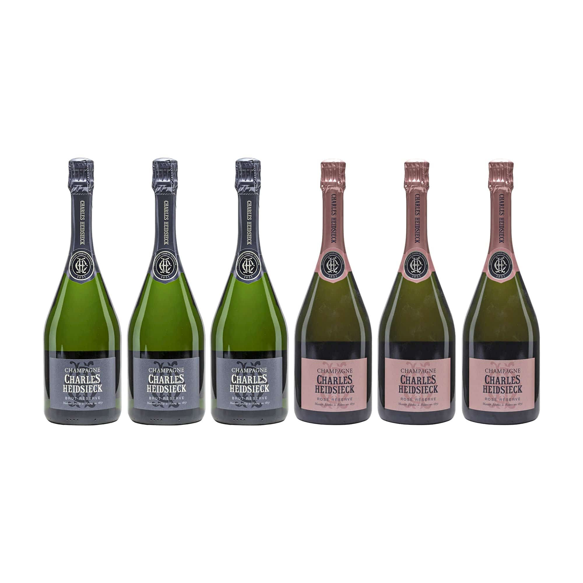 Mixed Case Champagne Charles Heidsieck NV Mixed Case