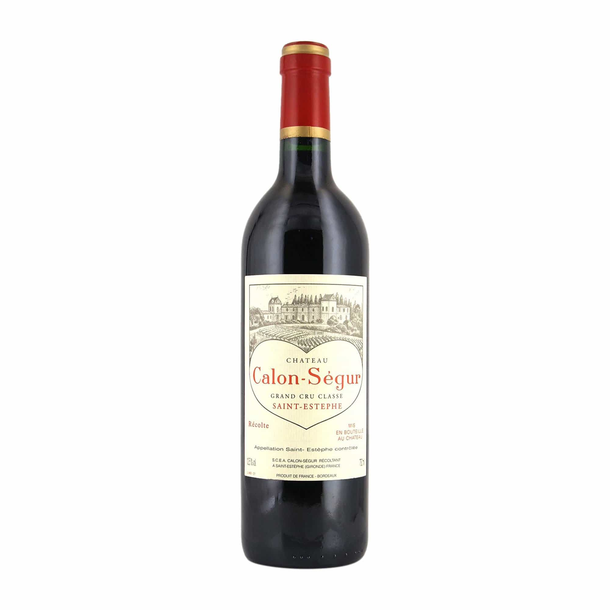 Red Wine Château Calon-Ségur 1998