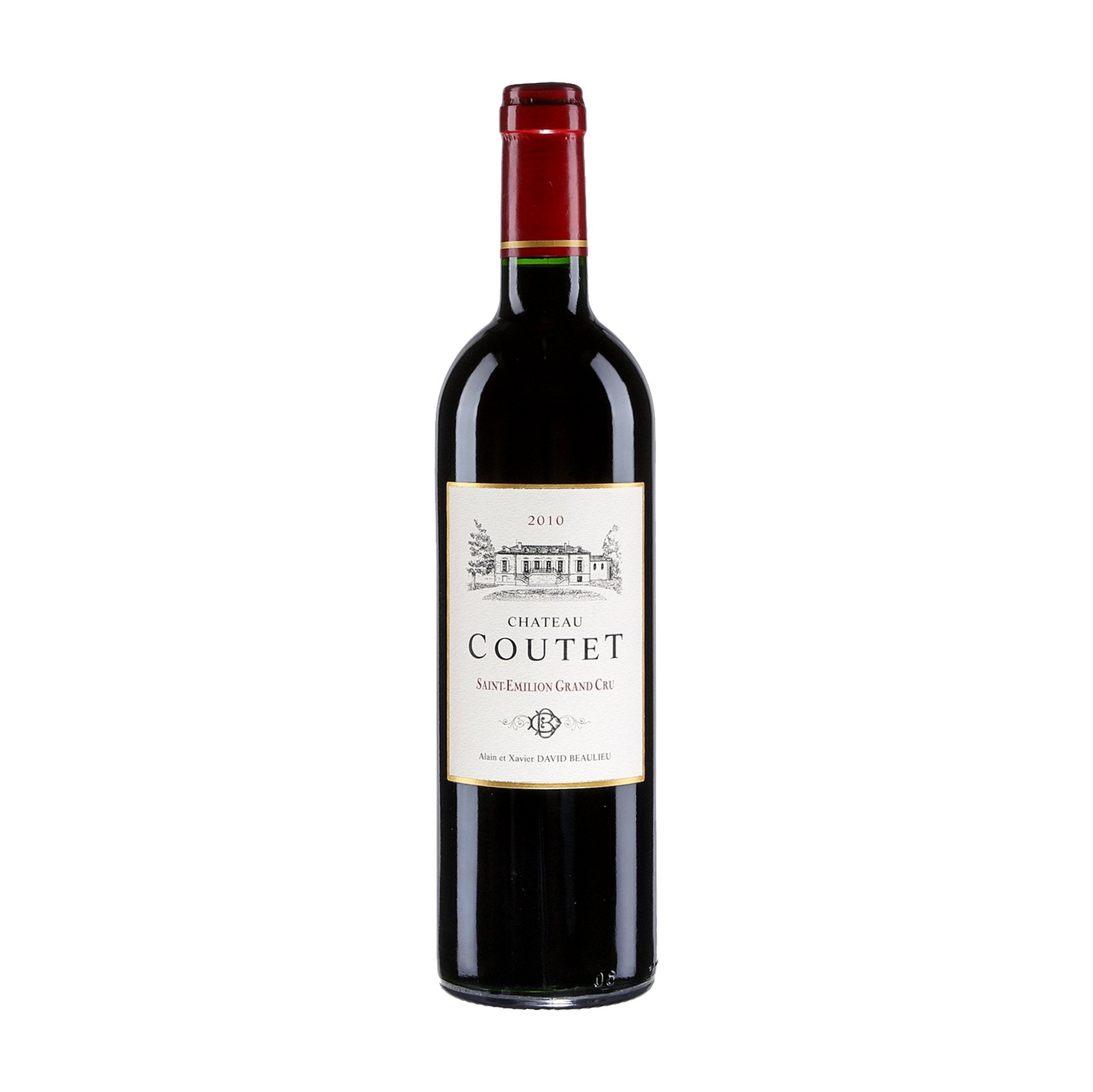 Red Wine Chateau Coutet Saint Emilion Grand Cru 2005