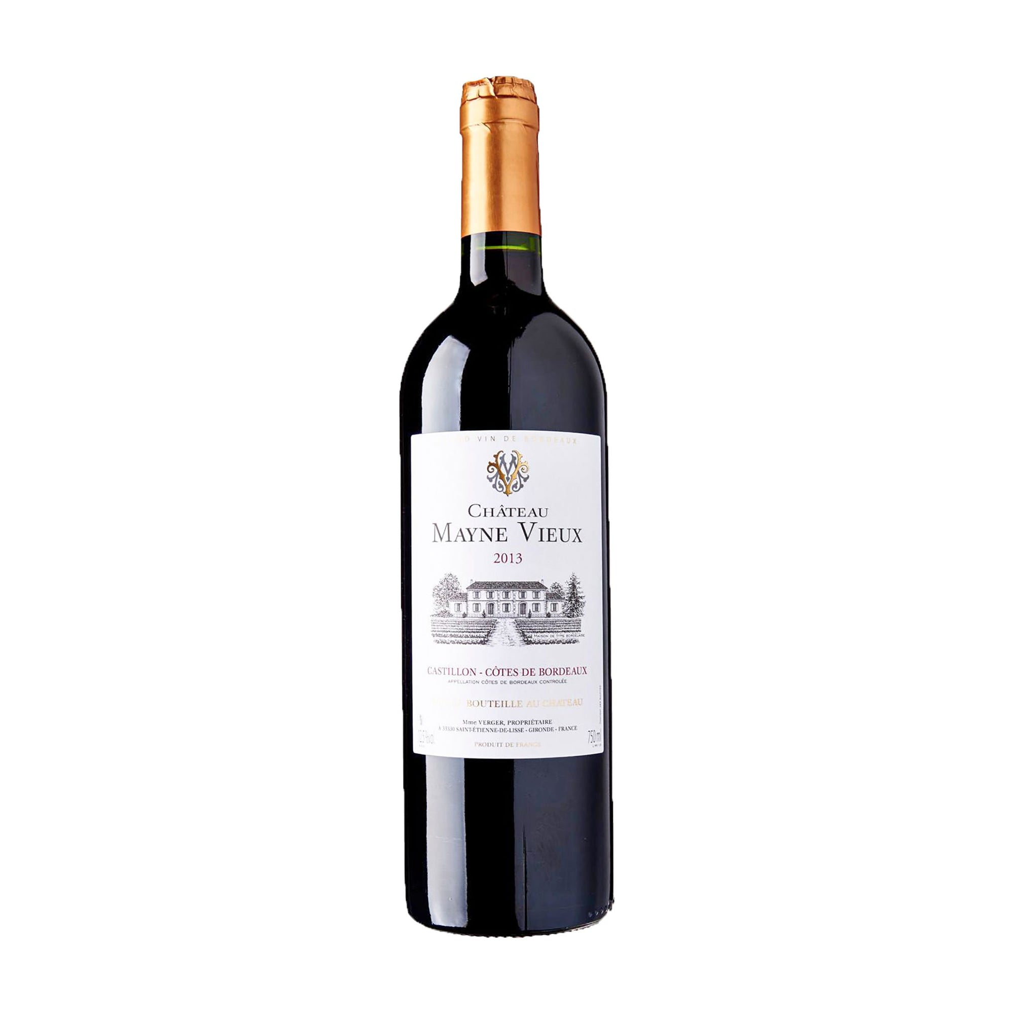 Red Wine Chateau Mayne Vieux 2014