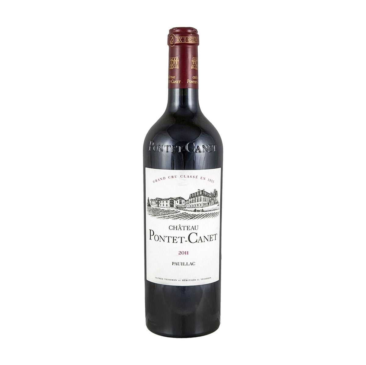 Red Wine Chateau Pontet Canet 2011