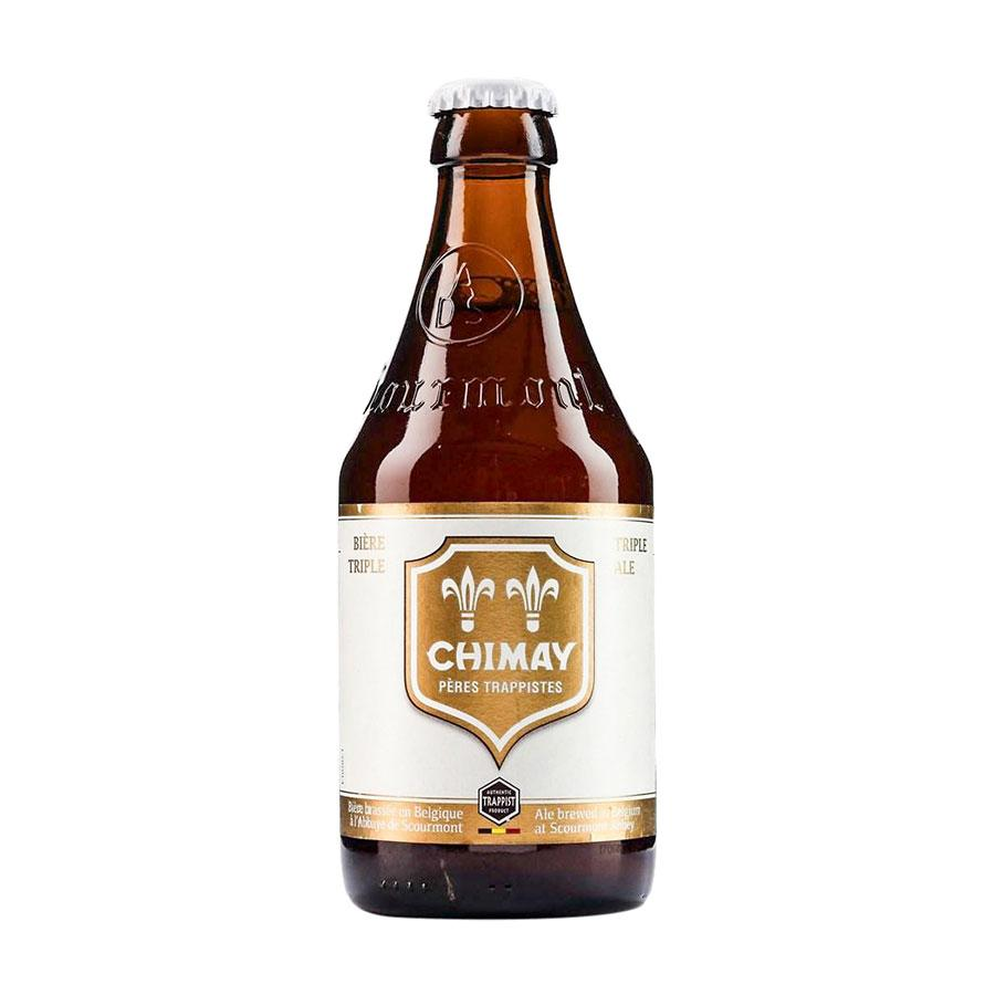 Beer Chimay White Cap