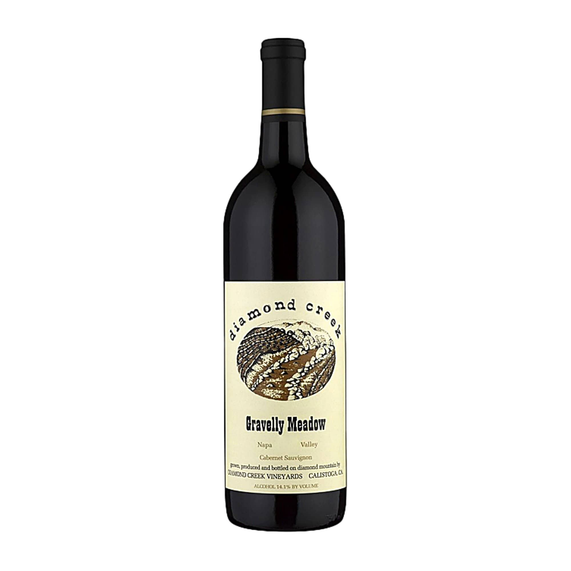Red Wine Diamond Creek Vineyards Gravelly Meadow 2018
