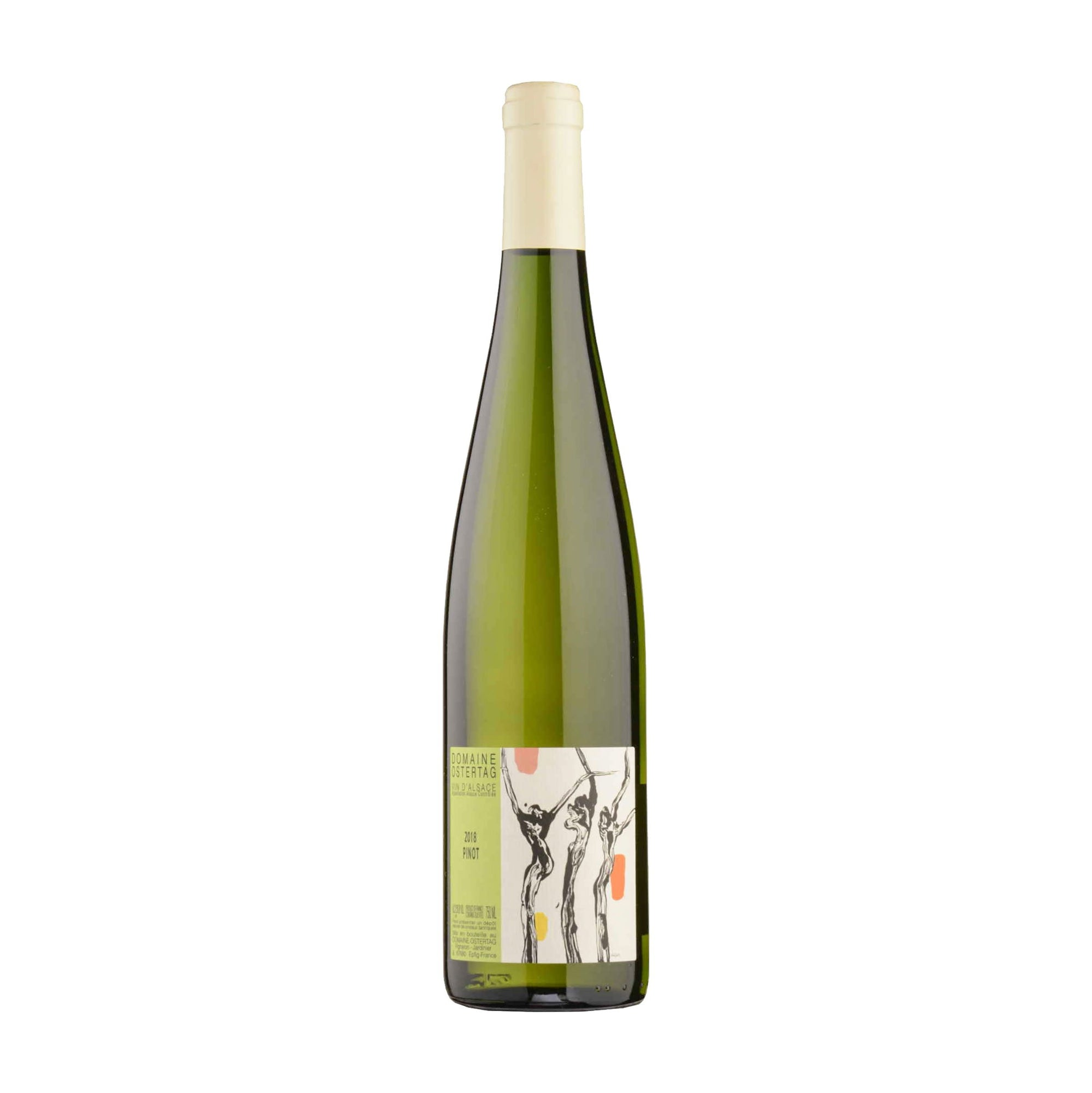 White Wine Domaine Ostertag 'Les Jardins Barriques' Pinot Blanc Alsace 2018 (4392663187479)