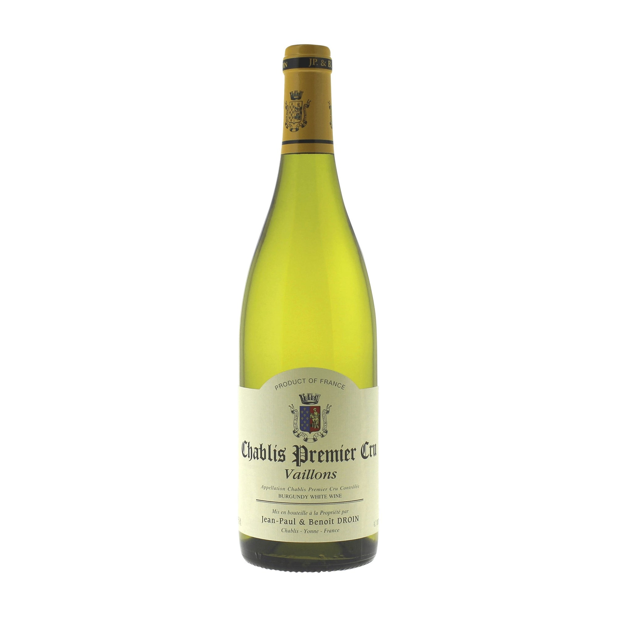White Wine Droin Chablis 1er Cru Vaillons 2018 (4387816210455)