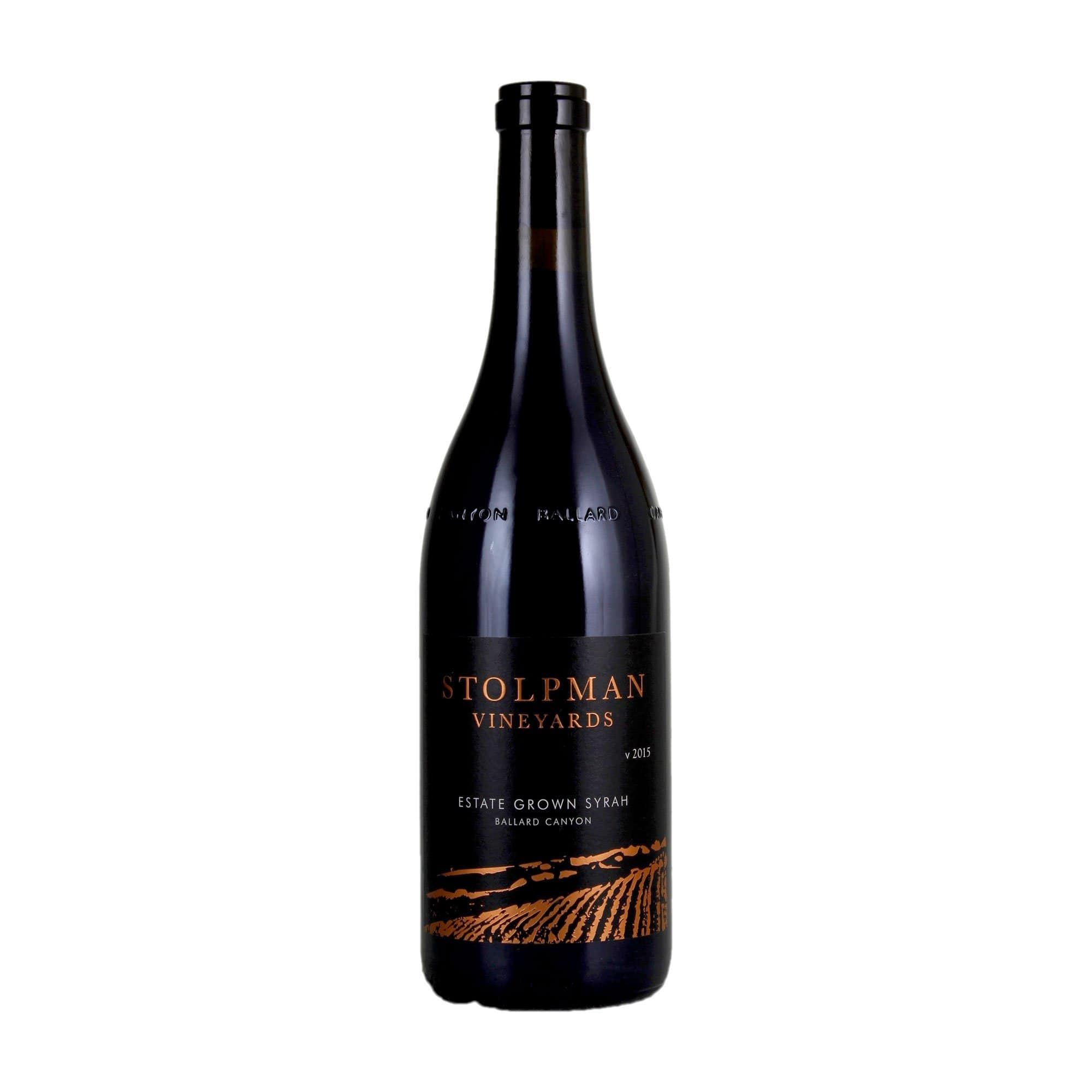 Red Wine Estate Syrah Stolpman Vineyards 2015