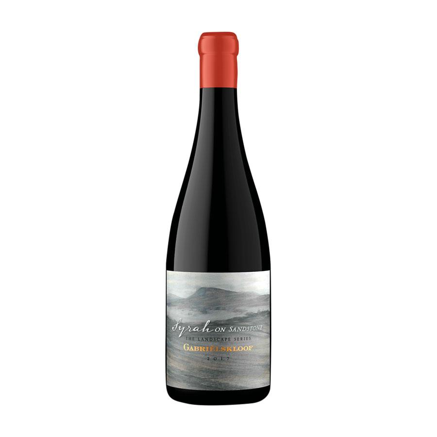 Red Wine Gabrielskloof Syrah on Sandston7 2018