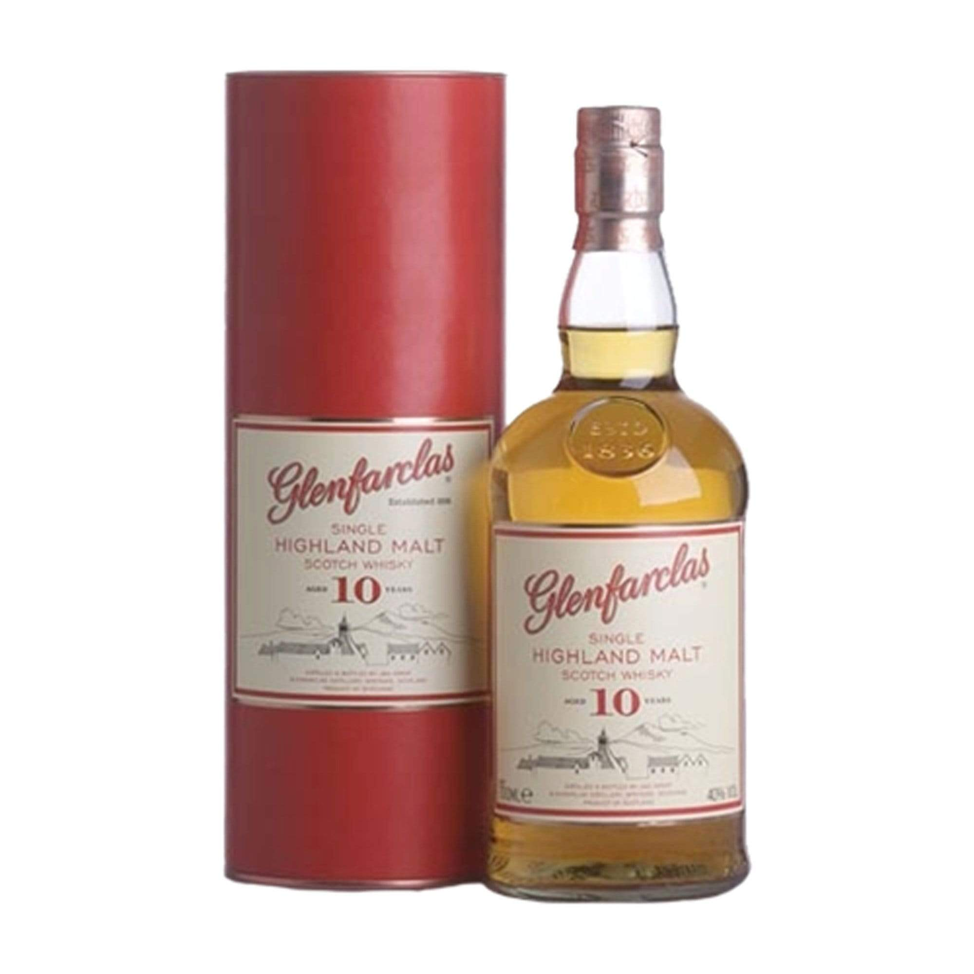 Spirits Glenfarclas 10 Year Old (Gift Tin)