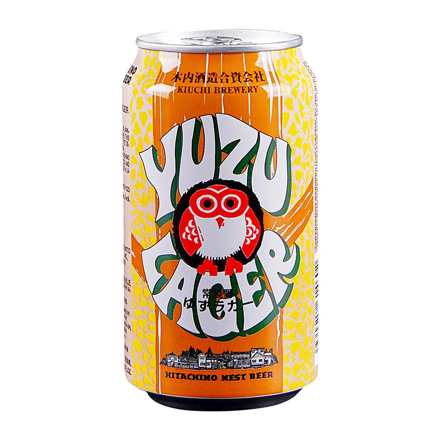 Beer Hitachino Nest Yuzu Lager CANS