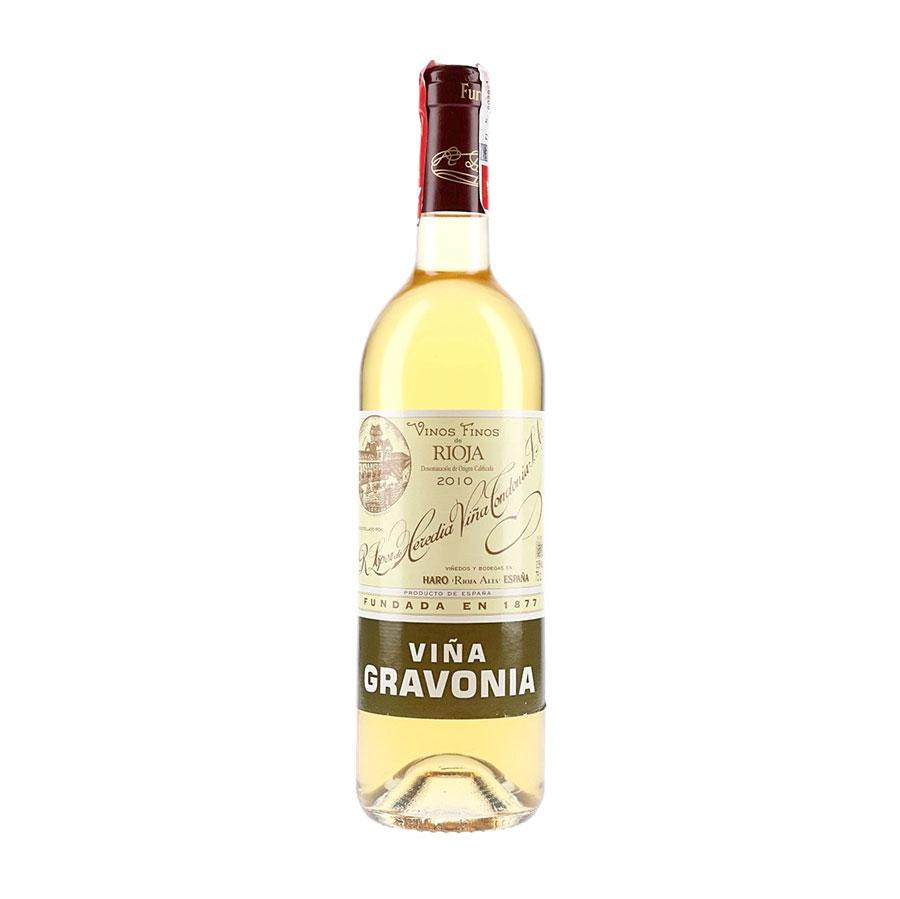 White Wine Lopez de Heredia Gravonia Blanco 2010 (4406228123671)