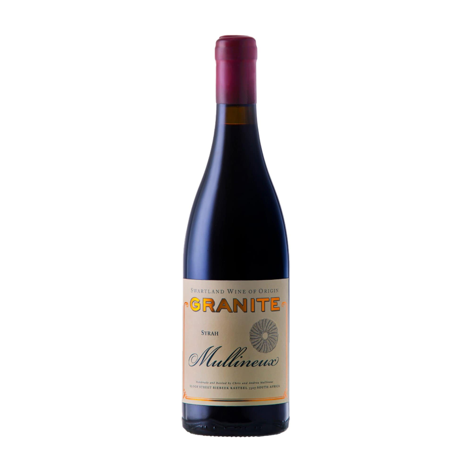 Red Wine Mullineux Granite Syrah 2017