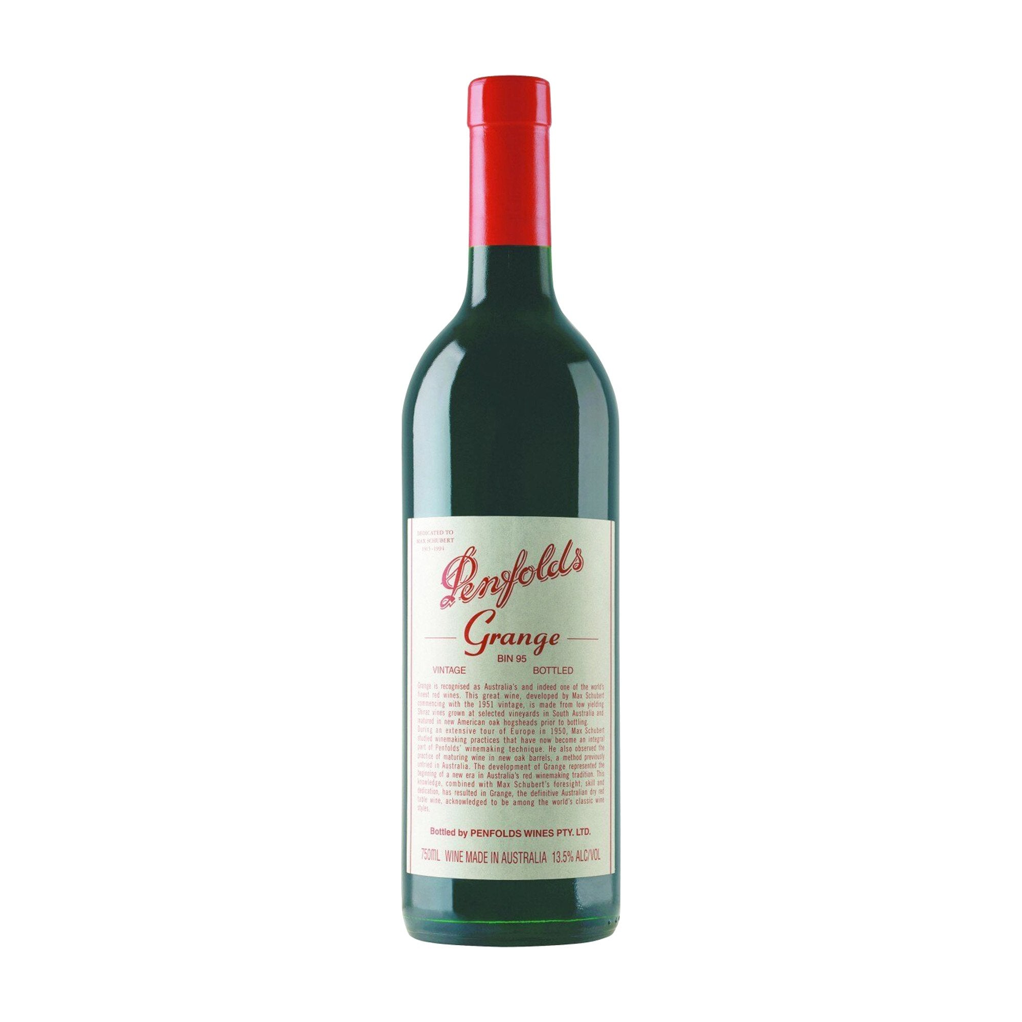 Red Wine Penfolds Grange 2010