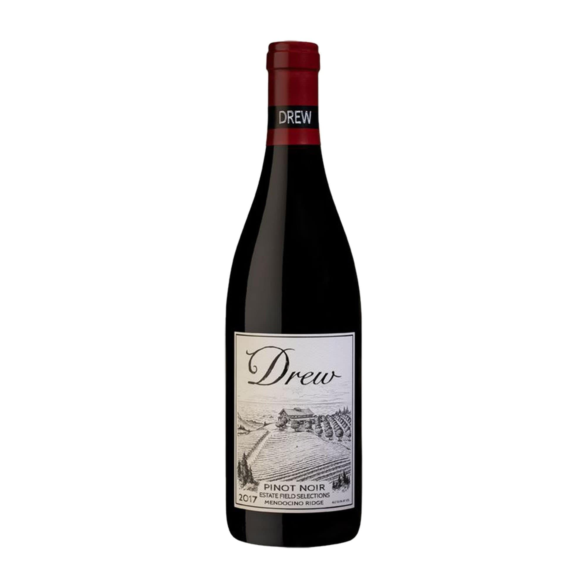 Red Wine Pinot Noir Estate Fields Selection Drew Family Cellars 2014