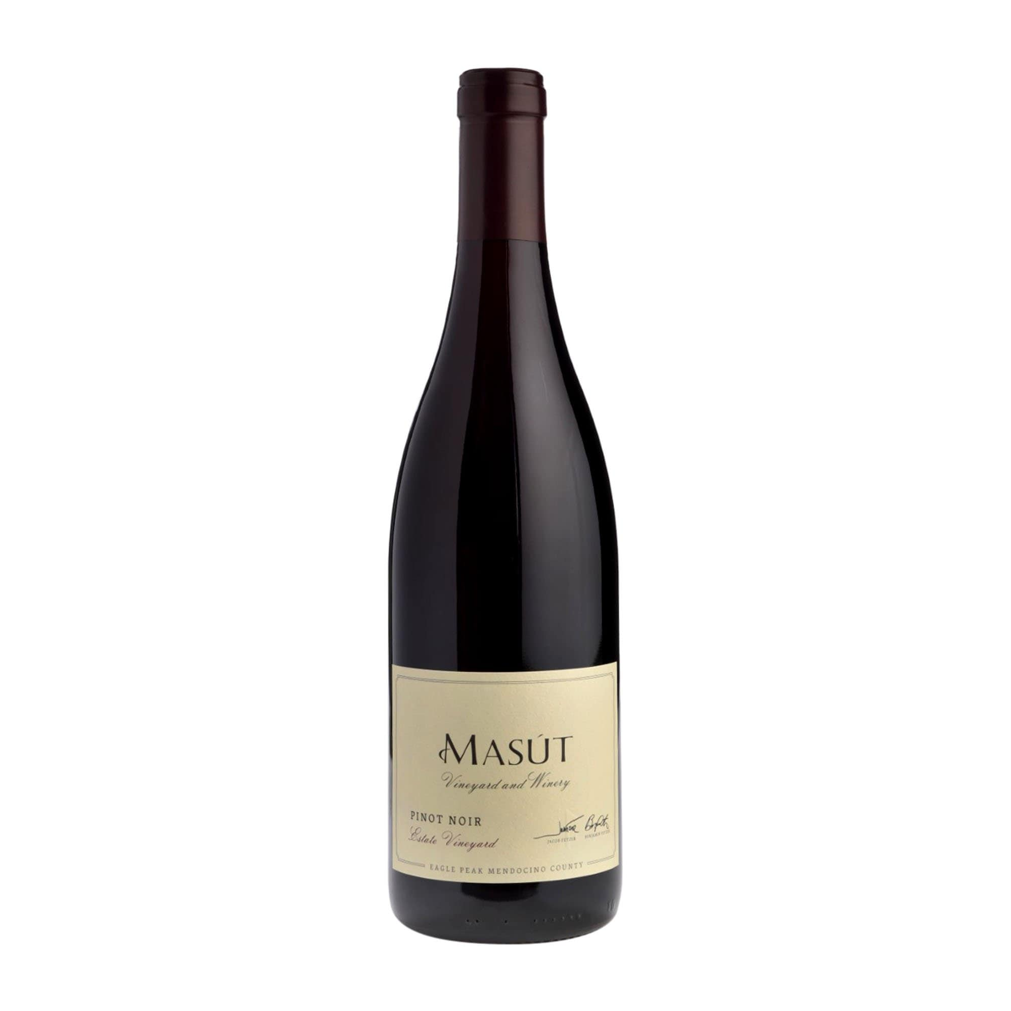 Red Wine Pinot Noir Masut 2017