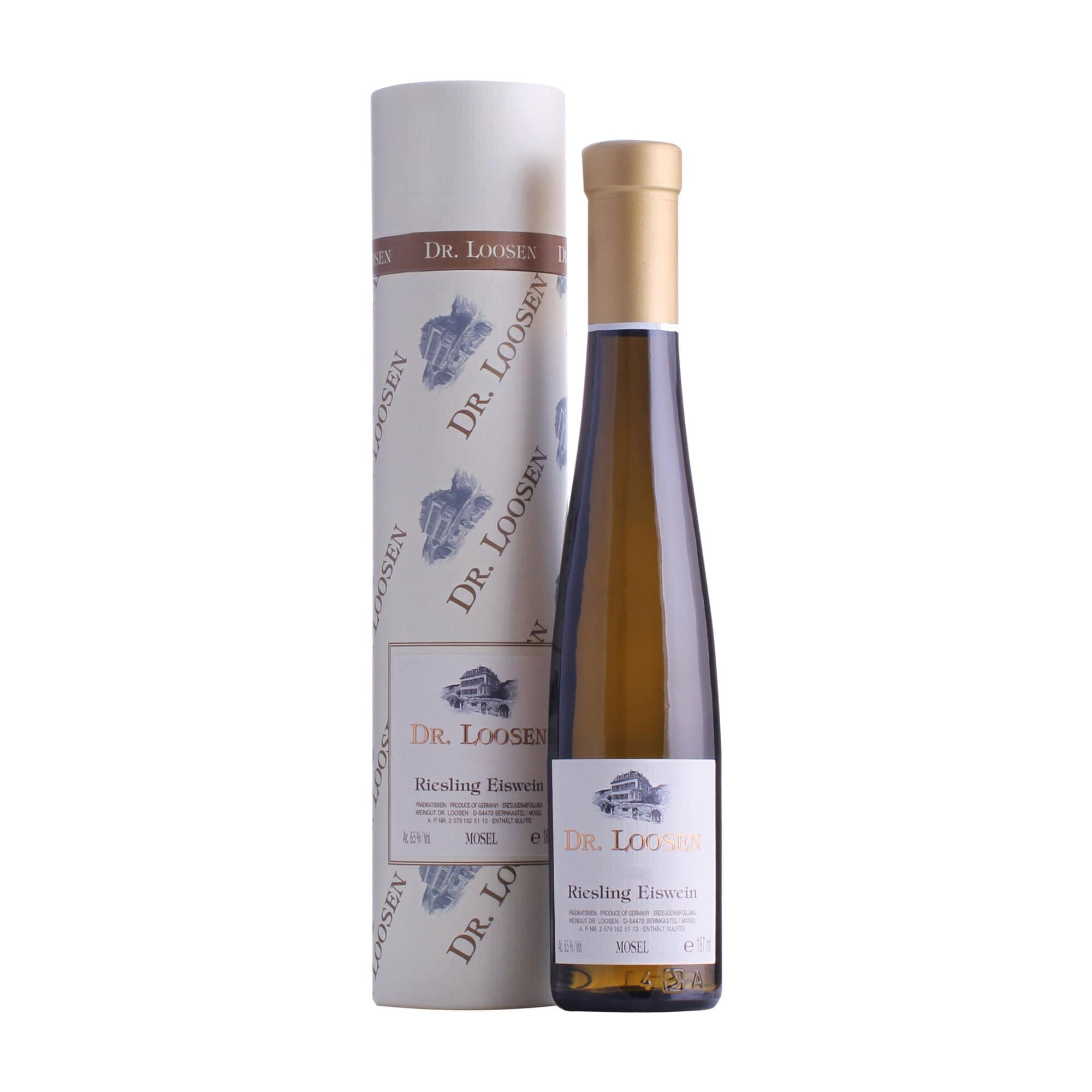 White Wine Riesling Eiswein Dr, Loosen NV (187ml Gift Tube)