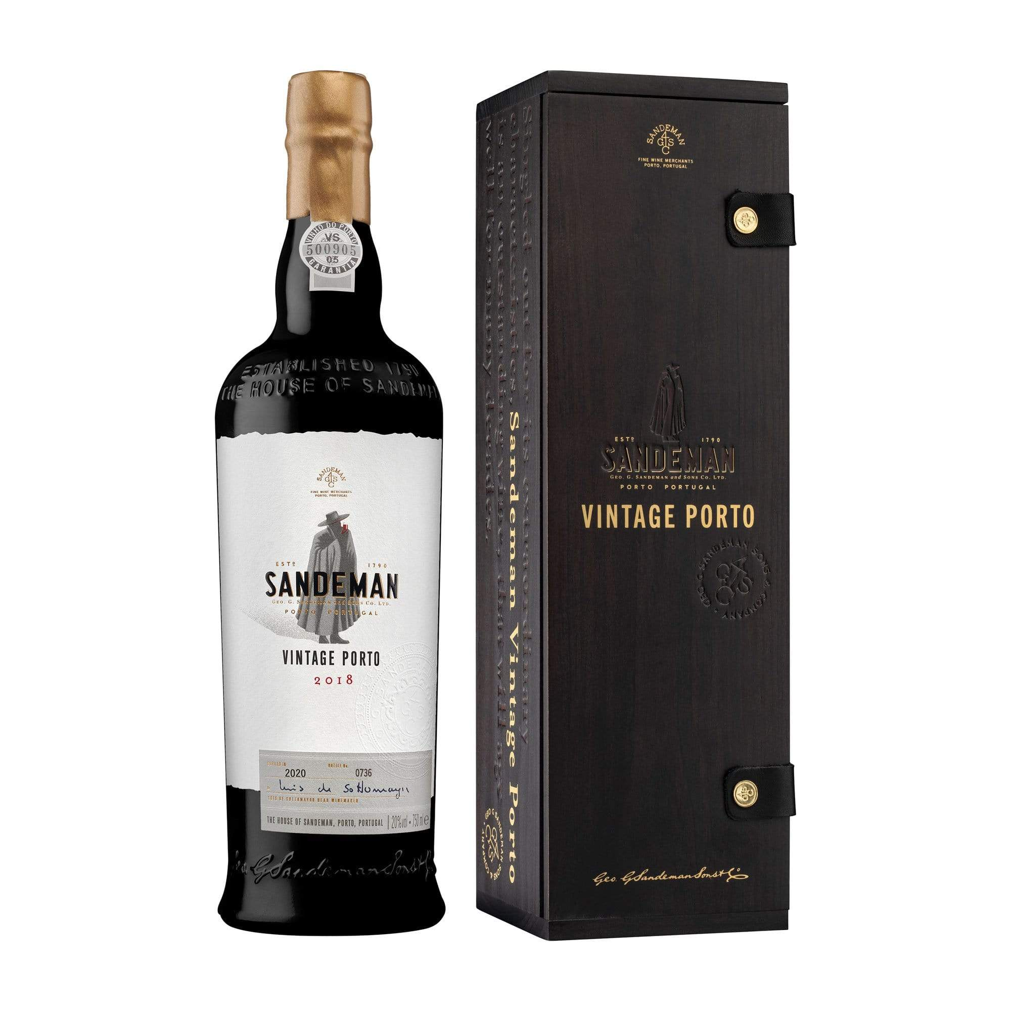 Fortified Sandeman Vintage Port 2018 (Gift Box)