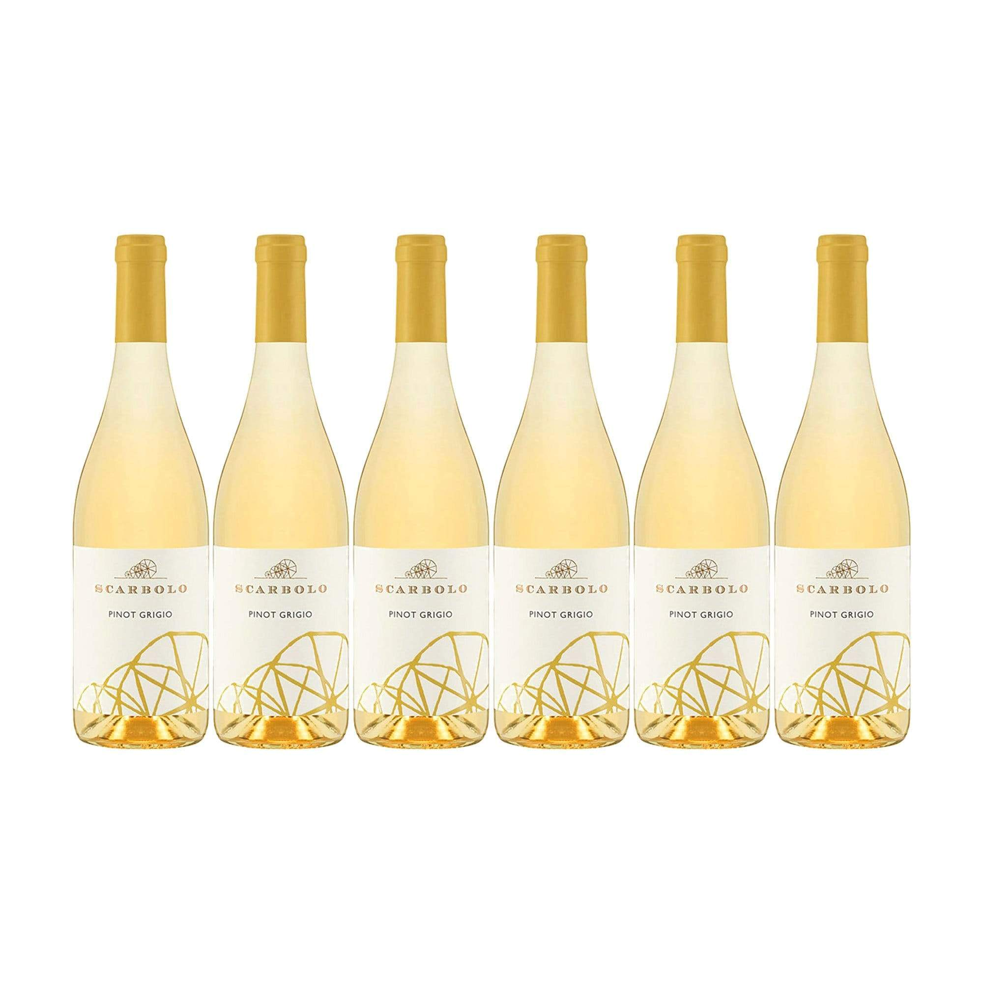 White Wine Scarbolo Pinot Grigio 2018 Case (6 bottles) (4529758535703)