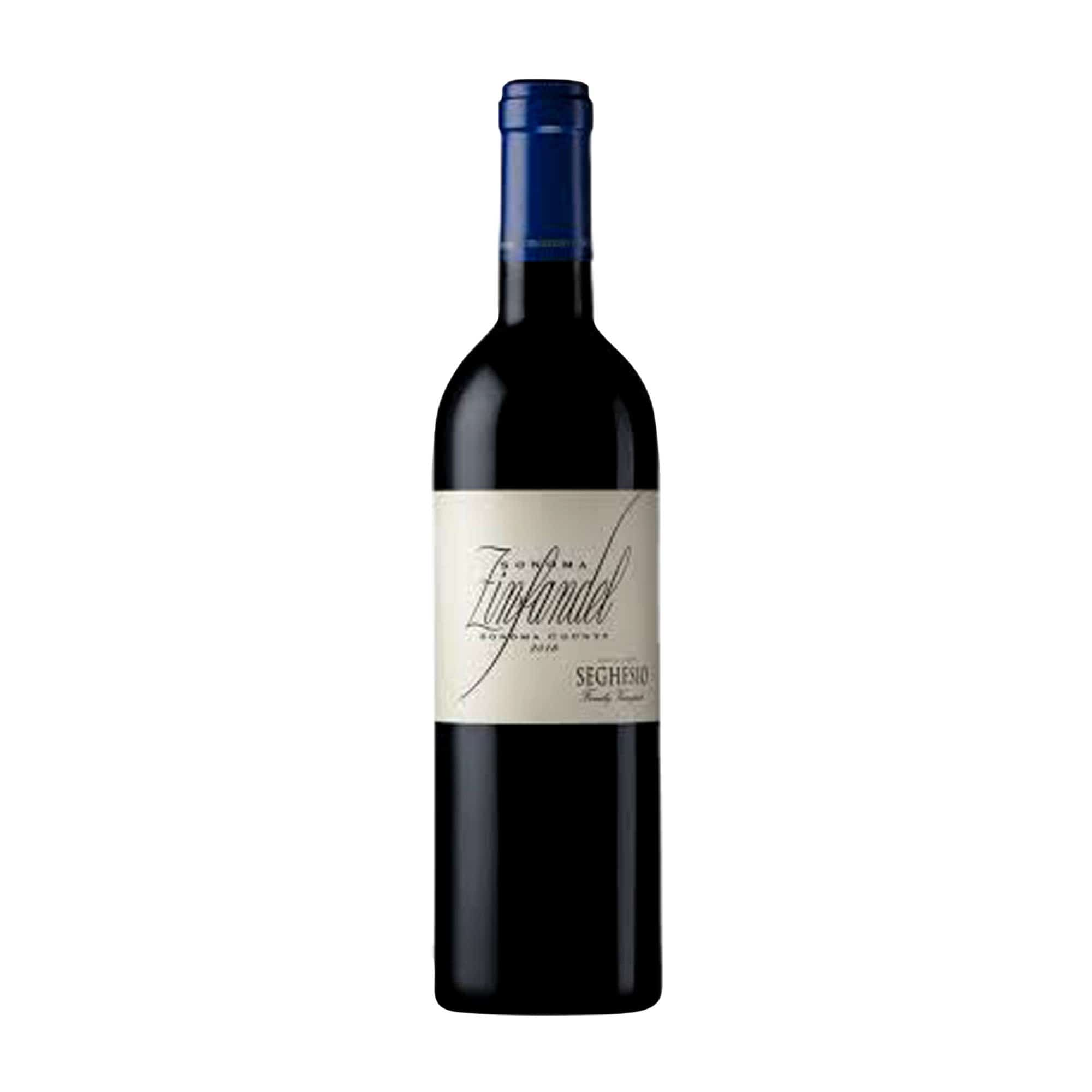 Red Wine Sonoma County Zinfandel Seghesio 2018