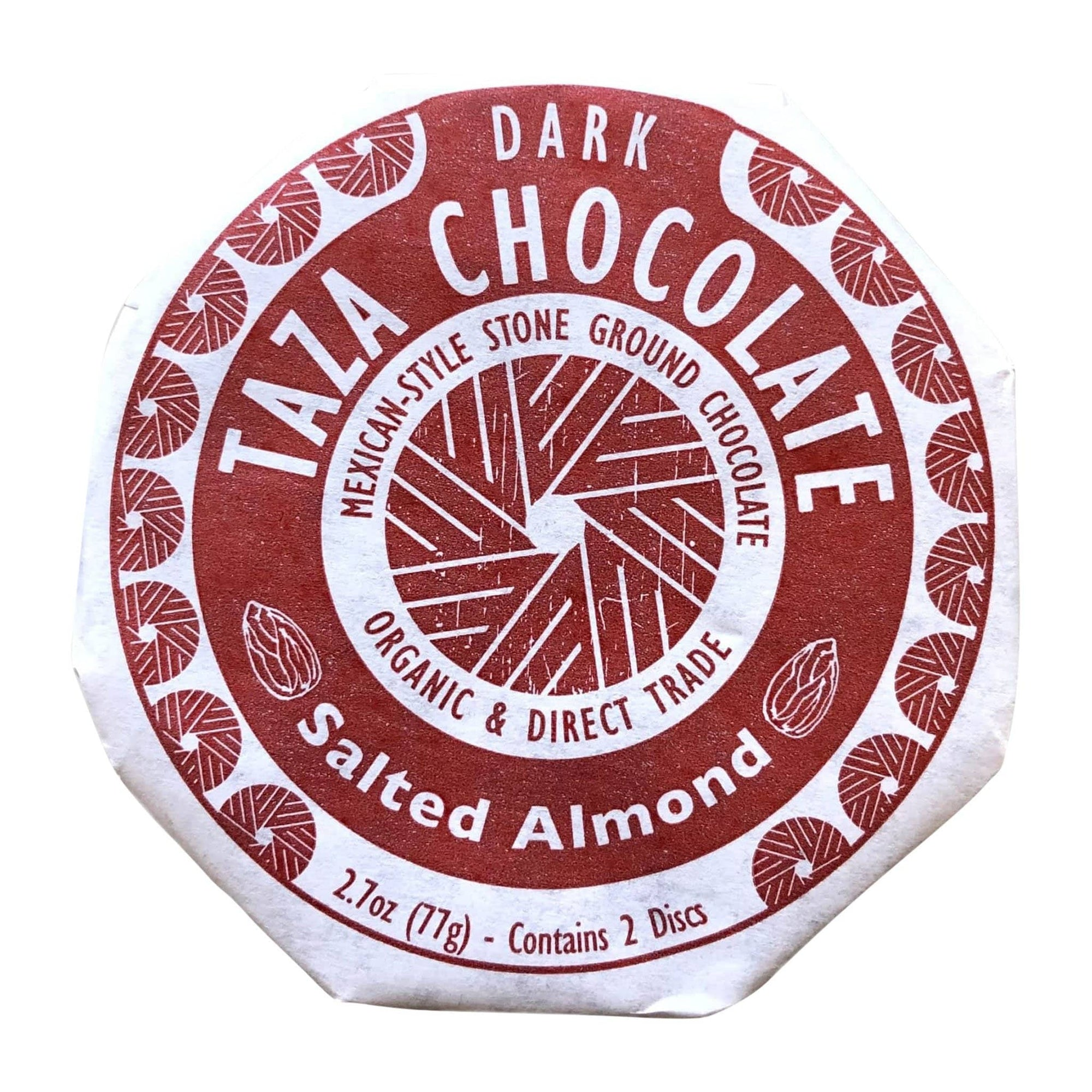 Food Taza Chocolate Salted Almond