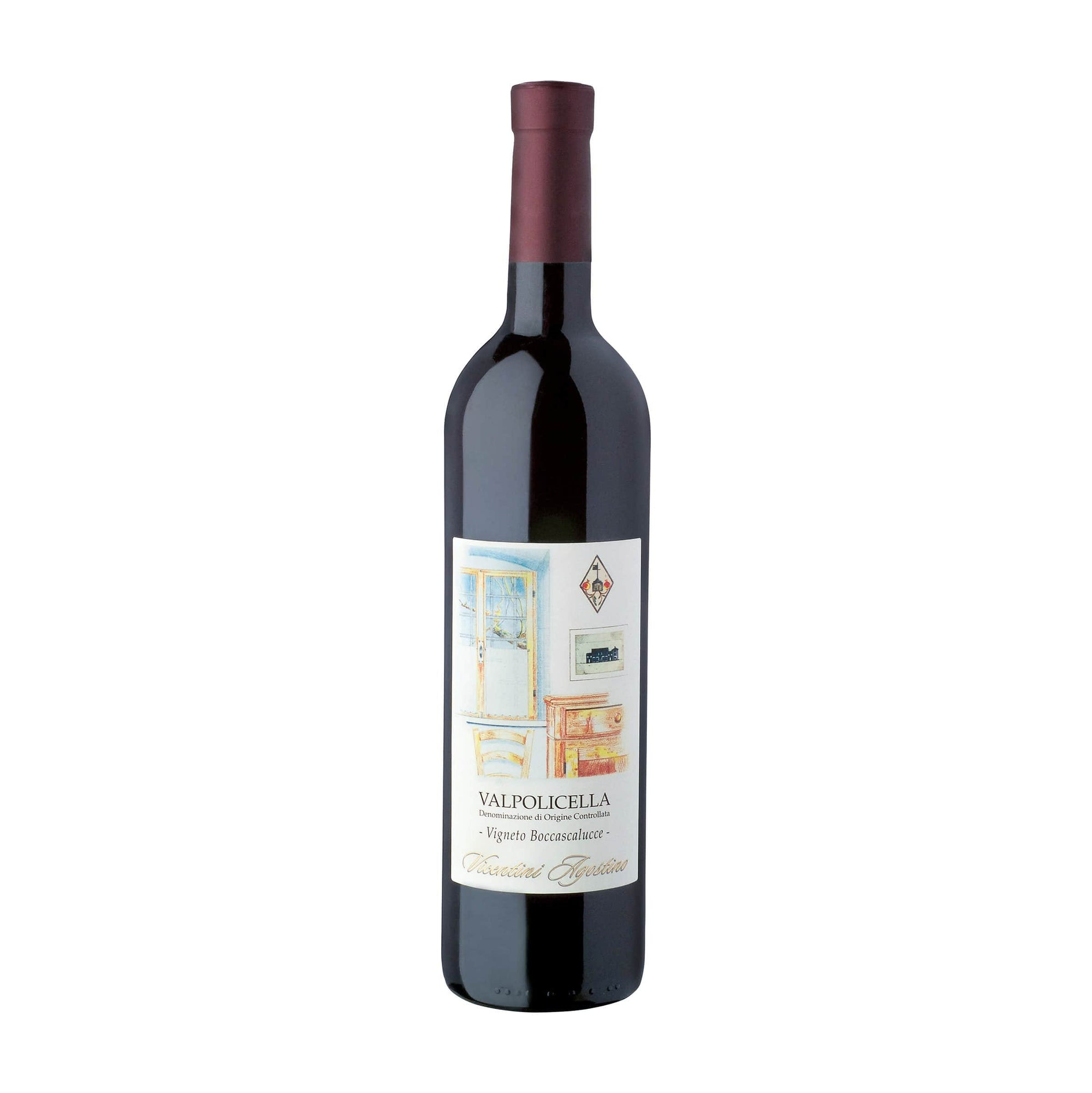 Red Wine Vicentini Agostino Valpolicella Red 2018