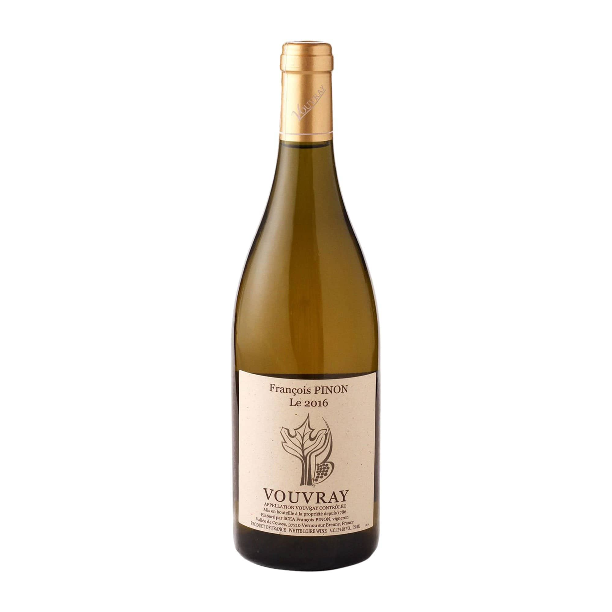 White Wine Vouvray François Pinon (off-dry) 2016