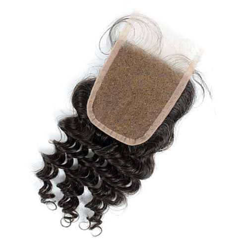 Brazilian Deep Curl | Swiss Lace Closure