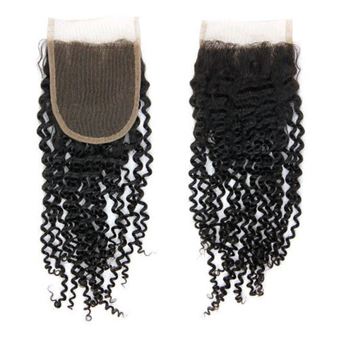 Mongolian Kinky Curl | Swiss Lace Closure