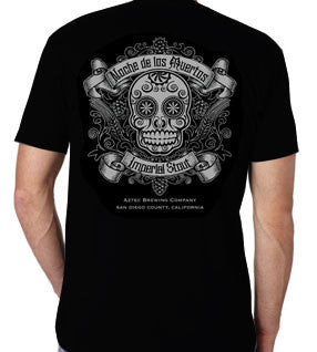 Noche Sugar Skull shirt for men