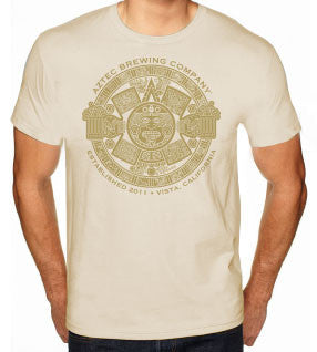 Men's Aztec Sun T-Shirt - Tan