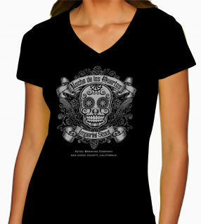 Noche Sugar Skull shirt for women