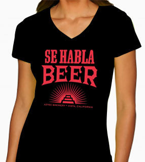 Women's Se Habla Beer shirt