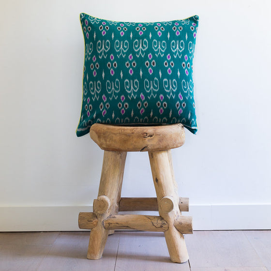 Ikat Cushion Cover