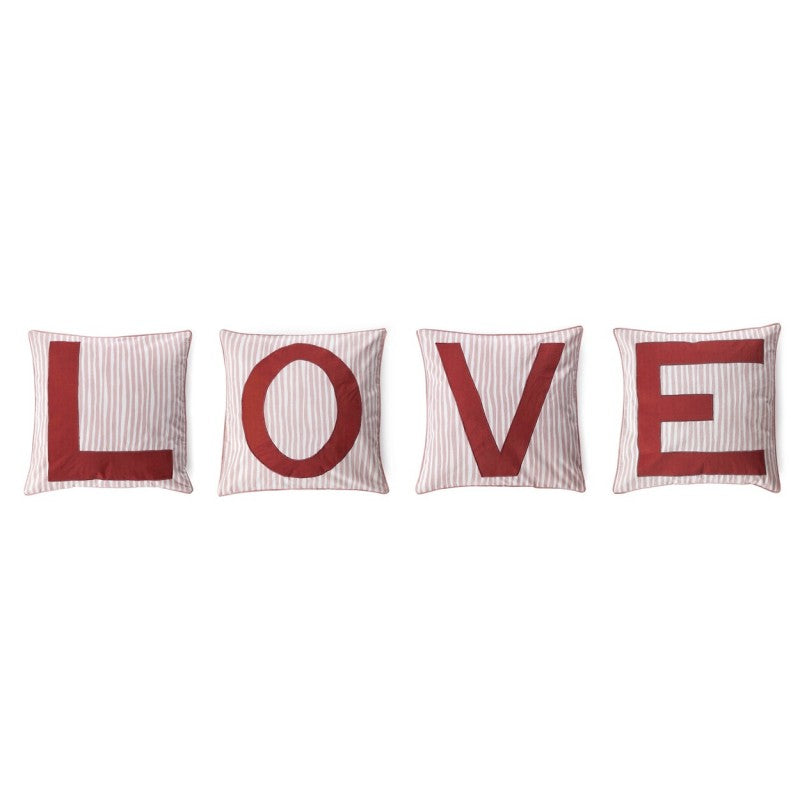 L O V E Cushion Set by ANNA + NINA