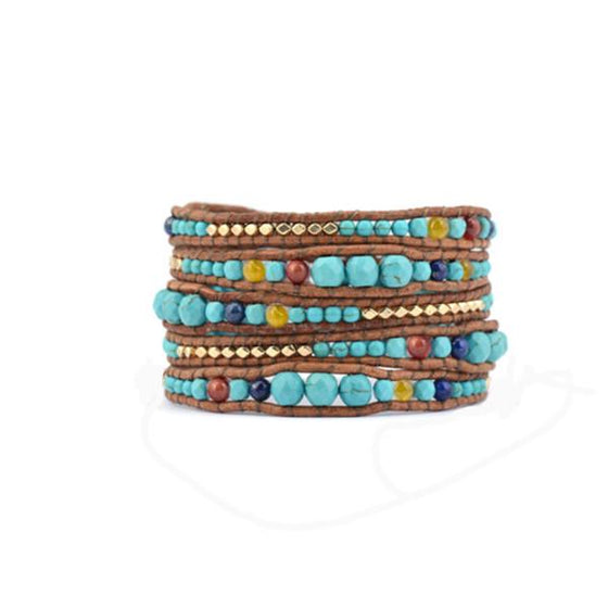 Turquoise Dream Wrap Bracelet